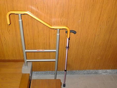 Entrance assistant railing B