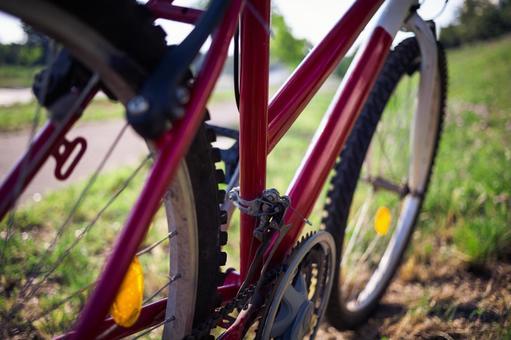 自行车停放1
