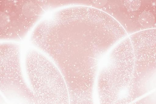 背景球散景圓形散景紋理粉紅色白色閃光