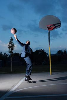 Foreigner who plays basketball 35