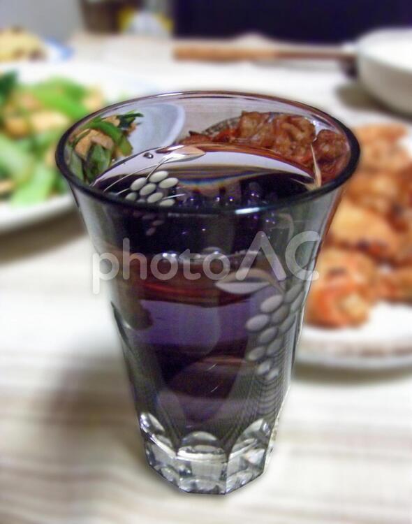江戸切子で冷酒 #2の写真