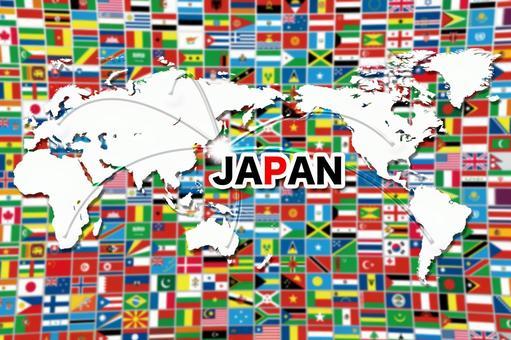 World and Japan image 2