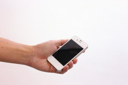 Male hand with smartphone 1