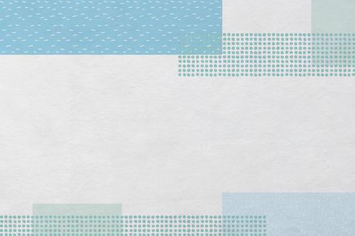 時尚的現代日本紙紋理_帶圖案方塊的背景材料
