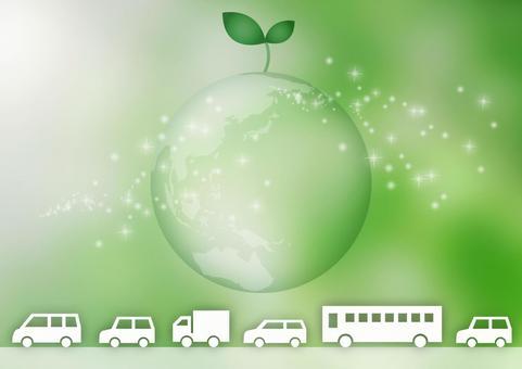 Eco-friendly car image