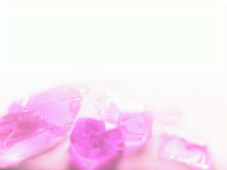 유리 소재 조치 핑크 하프