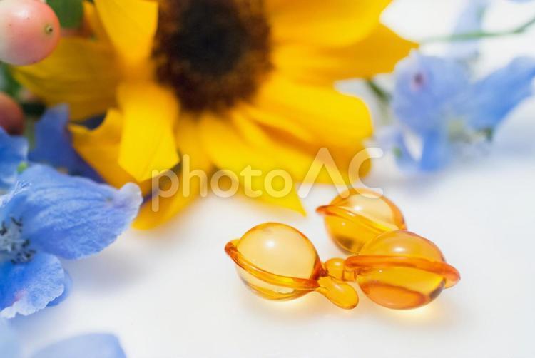 植物オイルの写真