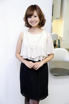 Japanese female model portrait 19