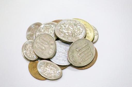 Savings Savings Coin (fisheye lens shooting) Free material