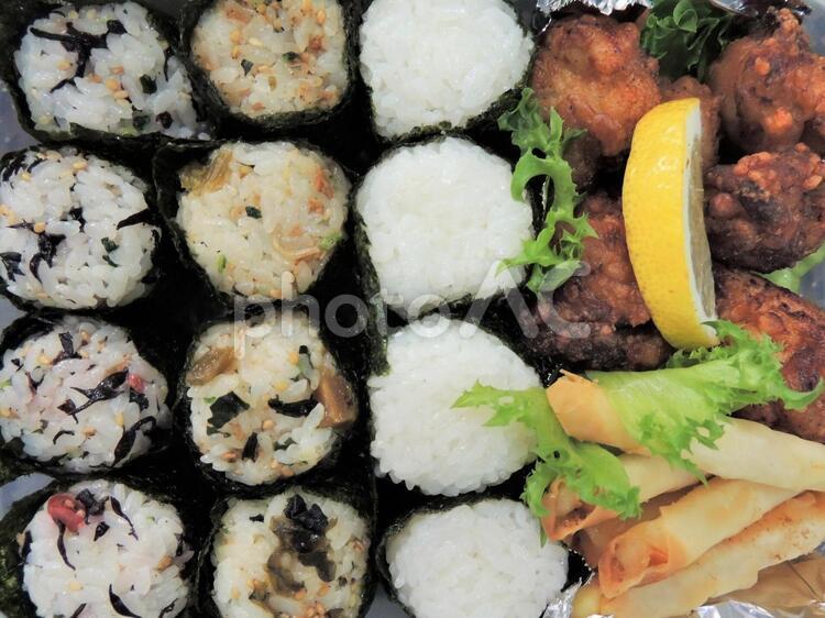 お弁当の写真