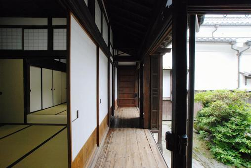 Old Japanese house Old folk house