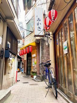 Shinagawa back street