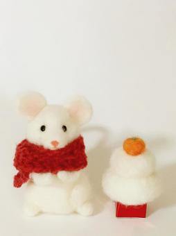 New Year's decoration of Zodiac mouse