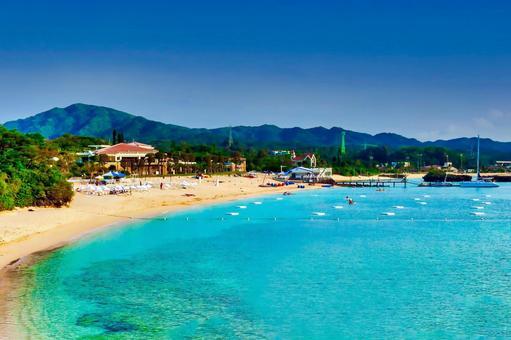 沖繩萬座海灘
