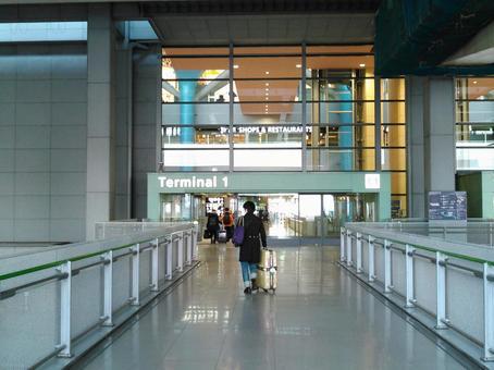 Kansai International Airport entrance 1