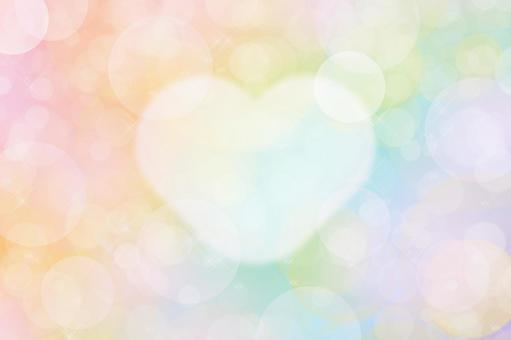 Glitter of heart   Background material