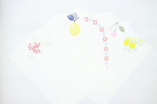Cute stationery letter