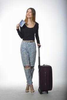 가방을 가진 여자 6
