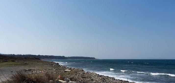 풍경 부두 해안선