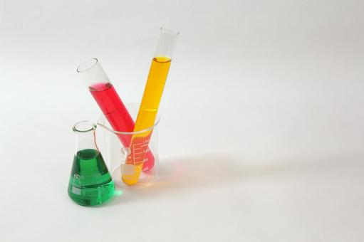 Test tube and flask 4