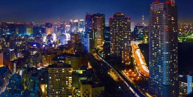 도쿄 야경 1
