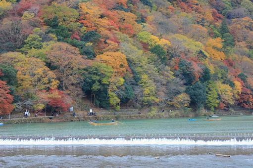 Arashiyama in autumn