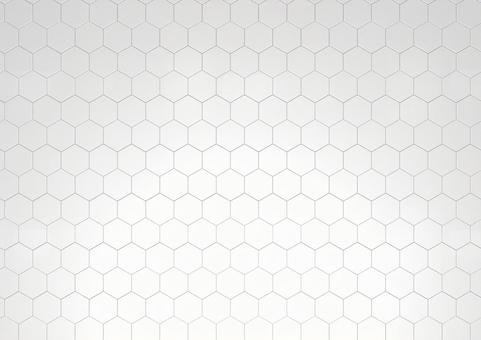 Hexagon honeycomb pattern