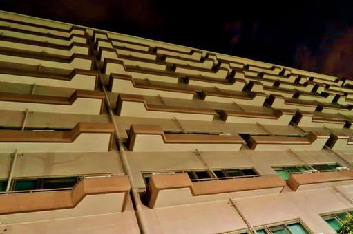Night high-rise apartment 2