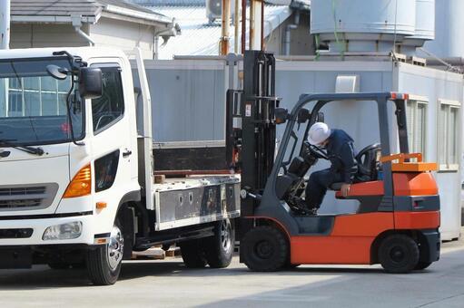 Forklift work