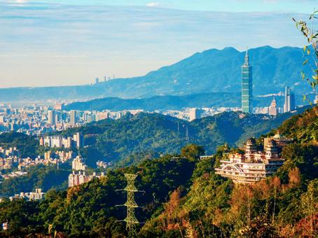 대만-타이페이 (Wenshan_Maokong_Taipei 101_Taipei city scenery)