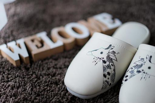 Beauty salon slippers