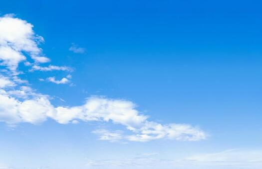 Blue sky sky refreshing sky background material