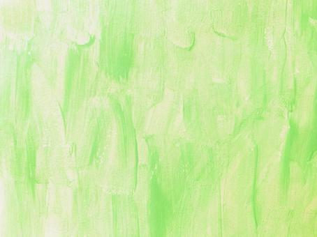 Watercolor paint, lime green, background material