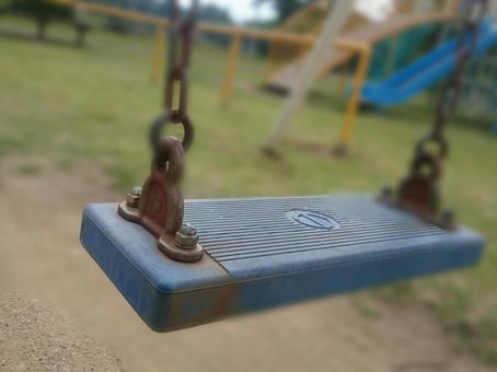 Unmanned swing