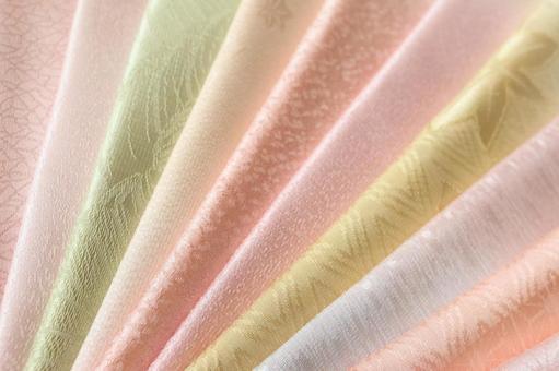 純真絲織物obi炒美麗多彩什錦背景美麗容光煥發