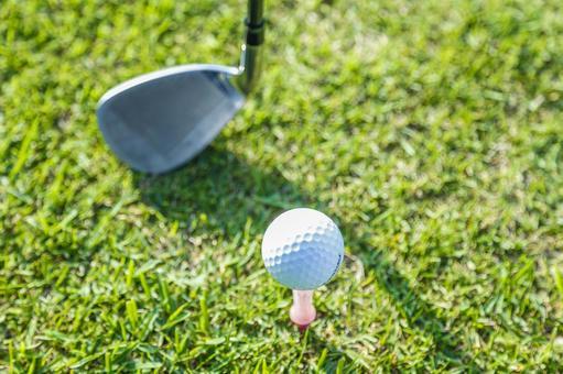 Grass club and golf ball 15