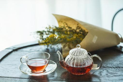 Break with herbal tea