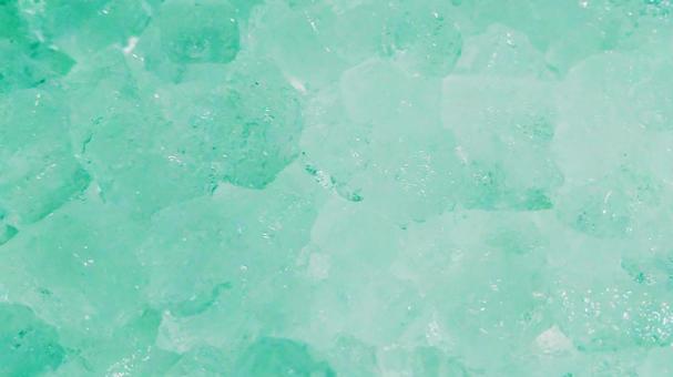 얼음 8 (녹색)