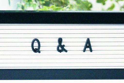 Q & A Question Answer Monotone
