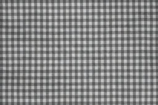 Fabric gray plaid