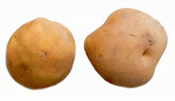 2 potatoes