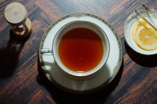 Tea time lemon tea