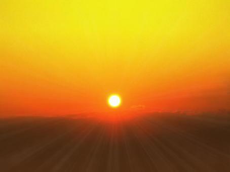 日落早晨太阳01