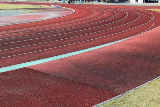 Track athletics stadium