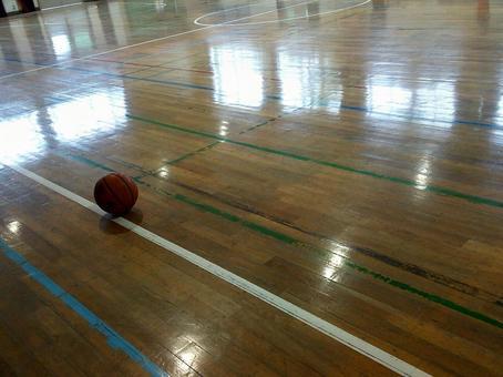 Gymnasium basketball