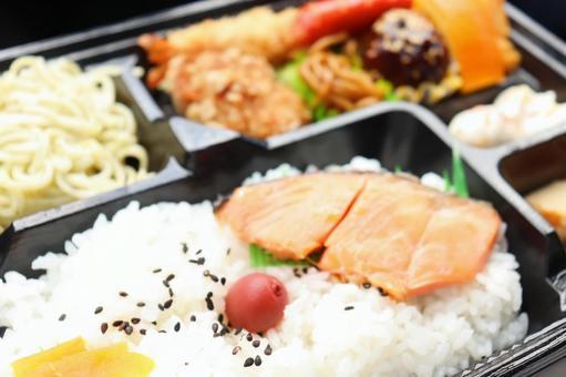 Salmon bento ②
