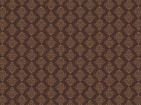 Background classic pattern brown pattern