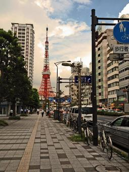 Places where you can see Tokyo Tower