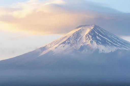笠雲의 후지산