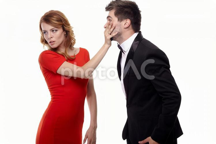 ケンカするカップル27の写真